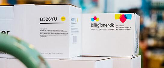 Velkommen hos BilligToner erhverv