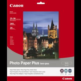 Canon Semi Glossy Fotopapir 10x12, 260g 20 ark / SG-201 / 1686B024