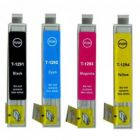 """Epson T1291 - T1294  XL """"Vælg selv"""" rabatpakke - Kompatibel"""