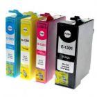 """Epson T1301 - T1304  XXL """"Vælg selv"""" rabatpakke - Kompatibel"""